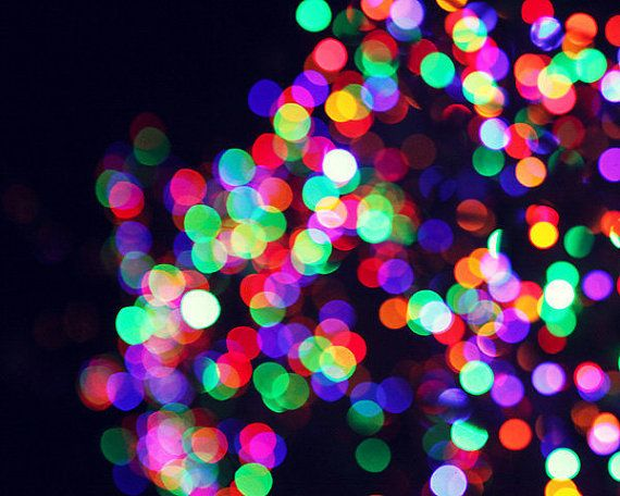 rainbow bokeh red glitter - photo #7