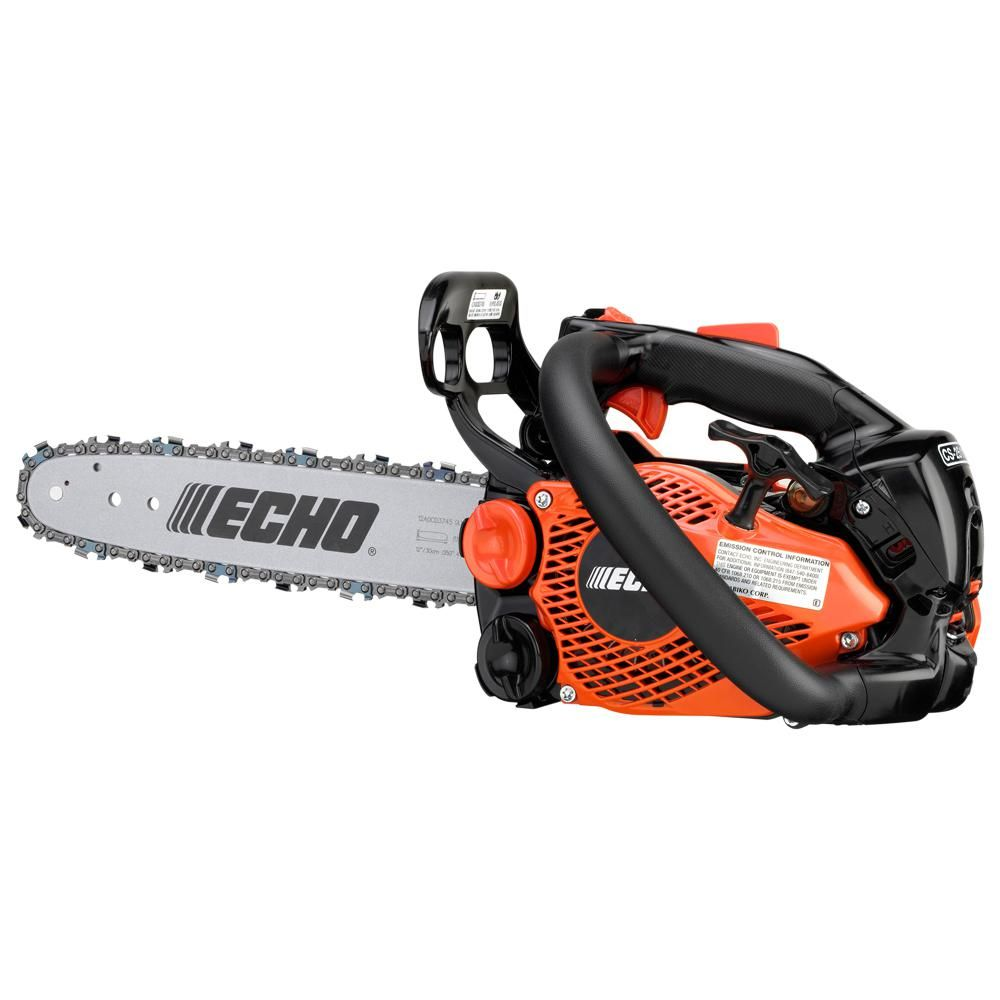 Echo 12 In 25 0 Cc Gas 2 Stroke Cycle Chainsaw Cs 2511t 12 Gas