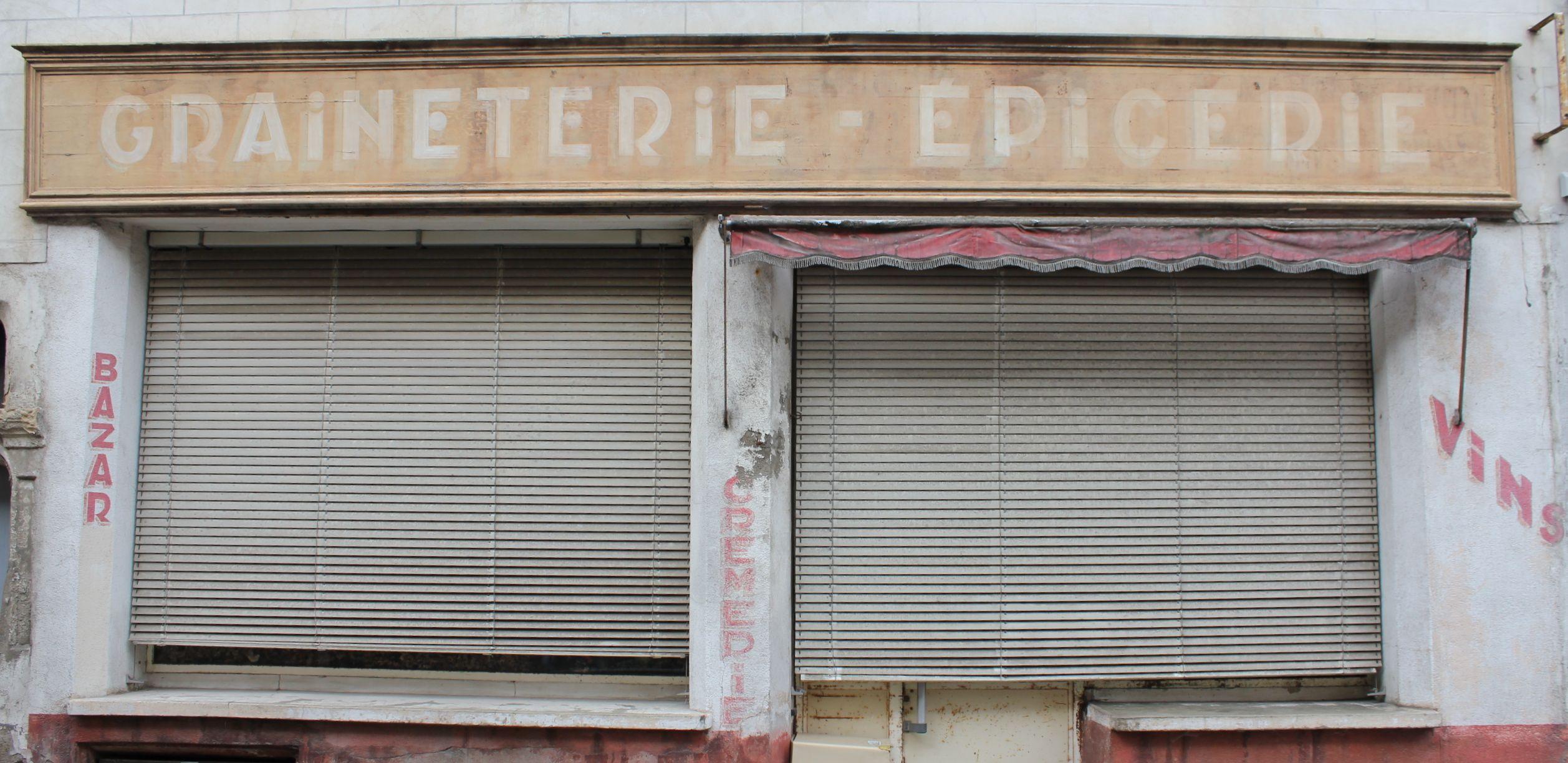 Abandoned Epicerie in Sancerre, France