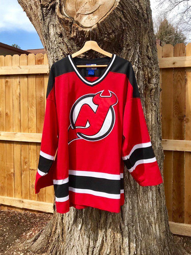 90s Starter New Jersey Devils Hockey Jersey ( XL) | New ...