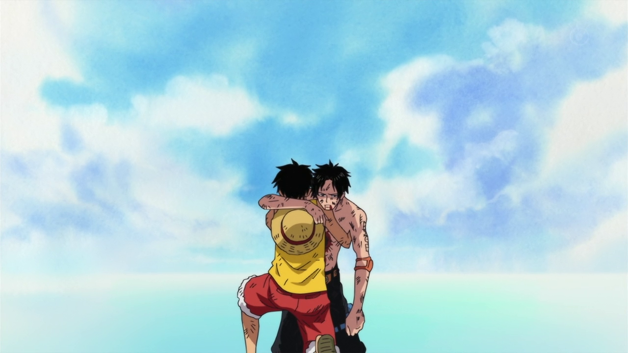 Saddest part of #OnePiece #Anime Ace dies! :'( | Luffy, Dessin one ...