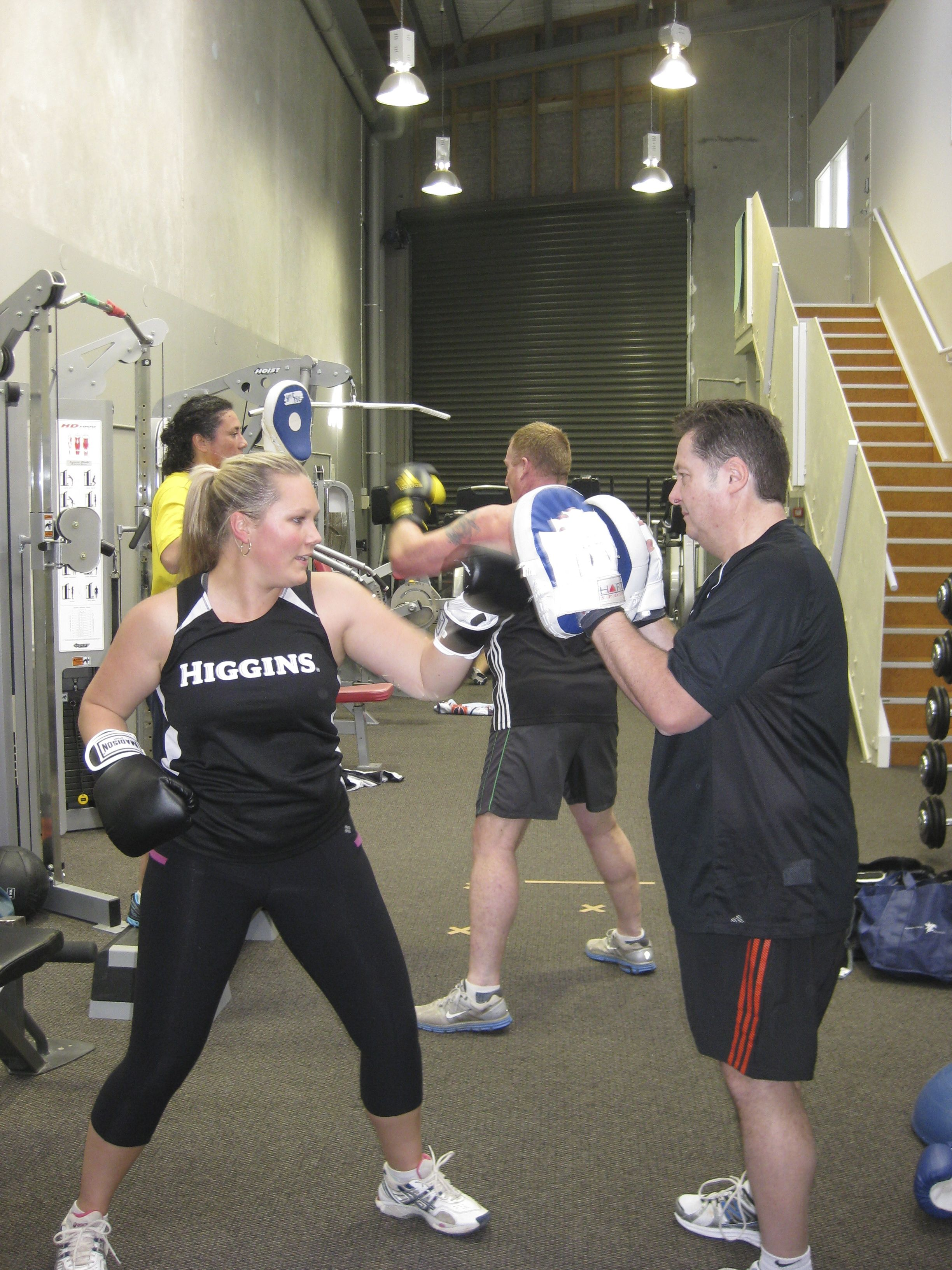 Boxing class at active highbrook boxing classes style