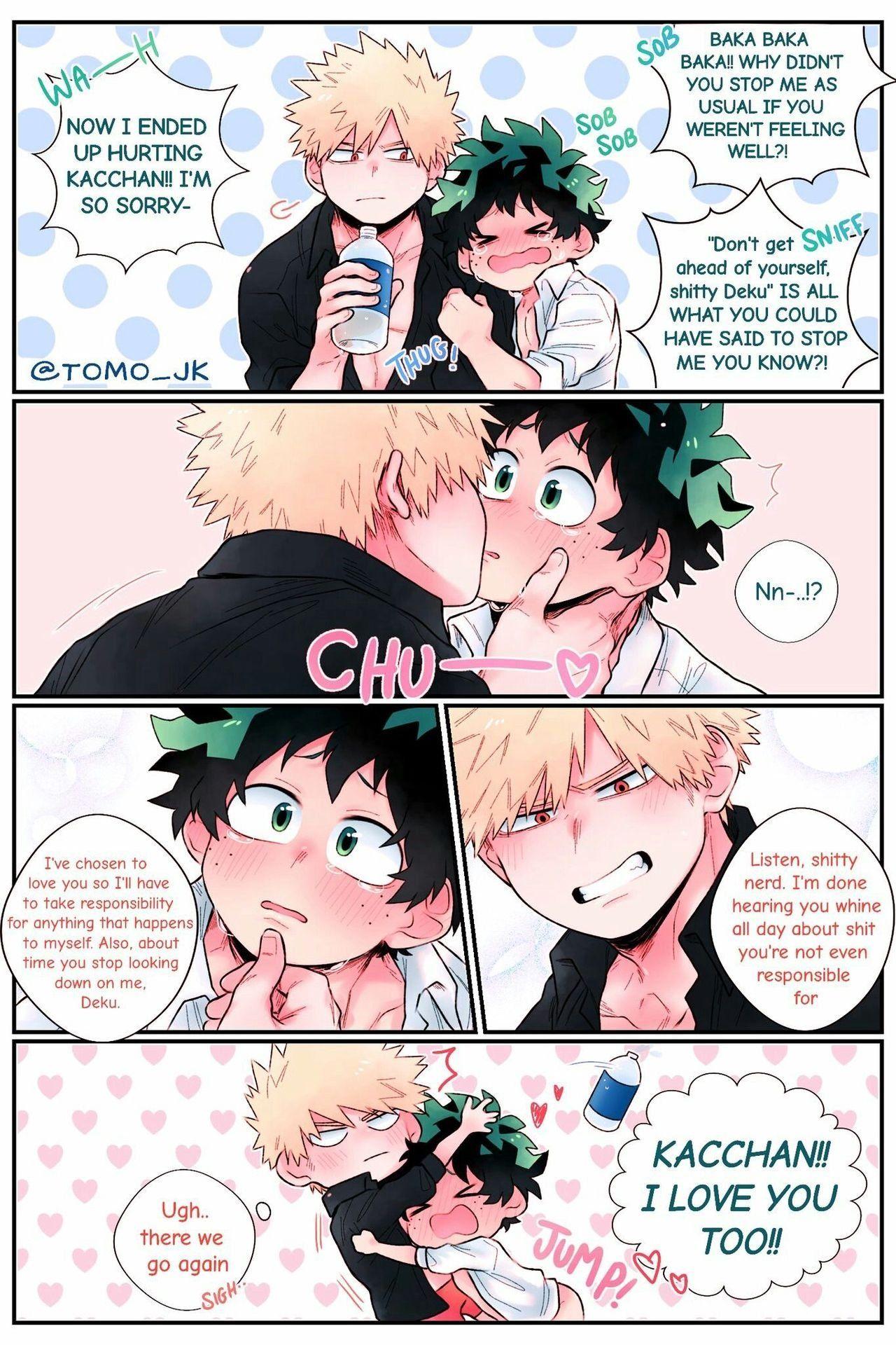 Omg What If Bakugo Was Actually Like This Thanks Horikoshi For Not Making Deku So Emo Cou My Hero Academia Manga My Hero Academia Memes My Hero Academia Shouto