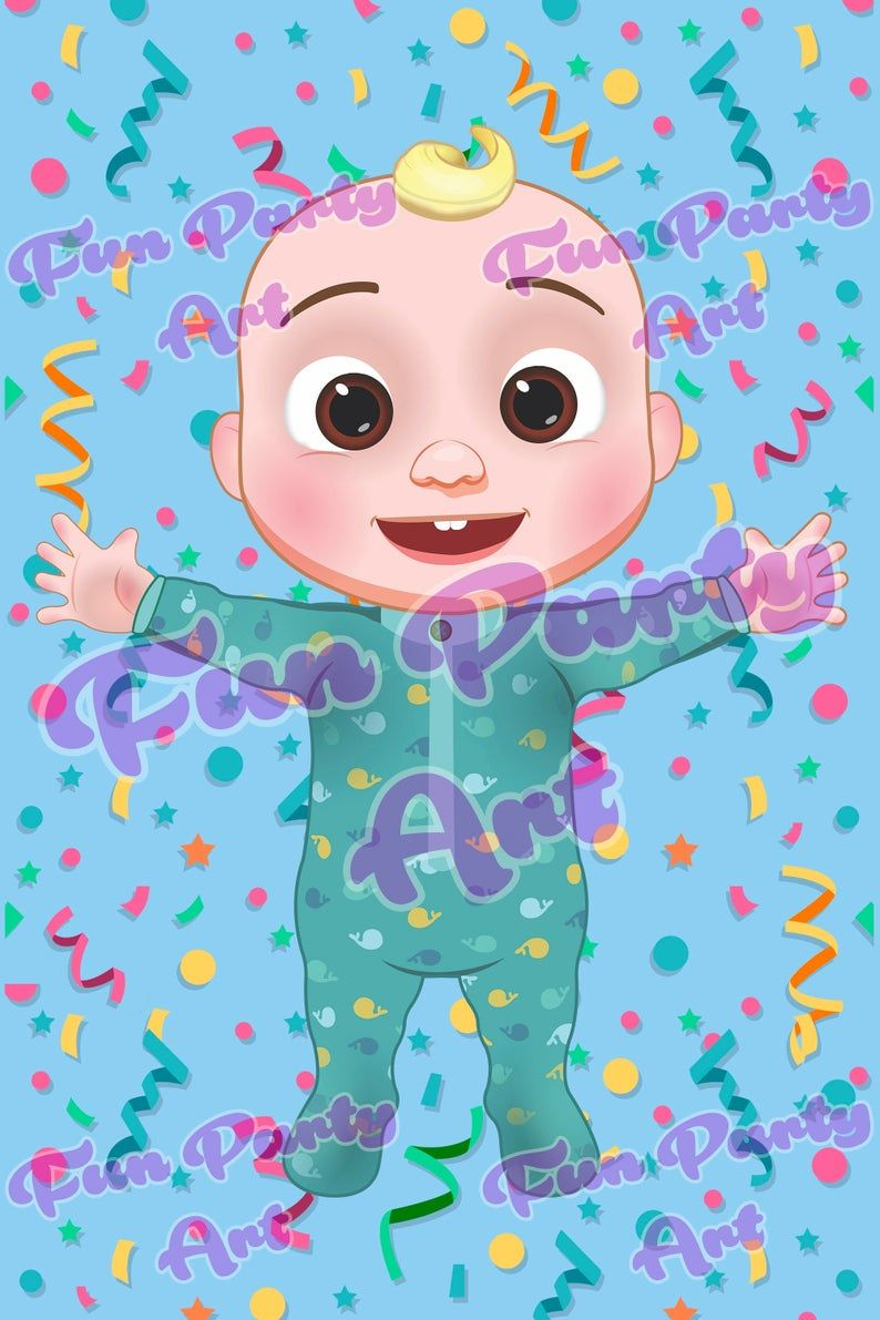 Cocomelon Jj Baby Shark Png Digital Instant Download Etsy In 2020 Baby Boy 1st Birthday Party Baby Boy 1st Birthday 1st Boy Birthday