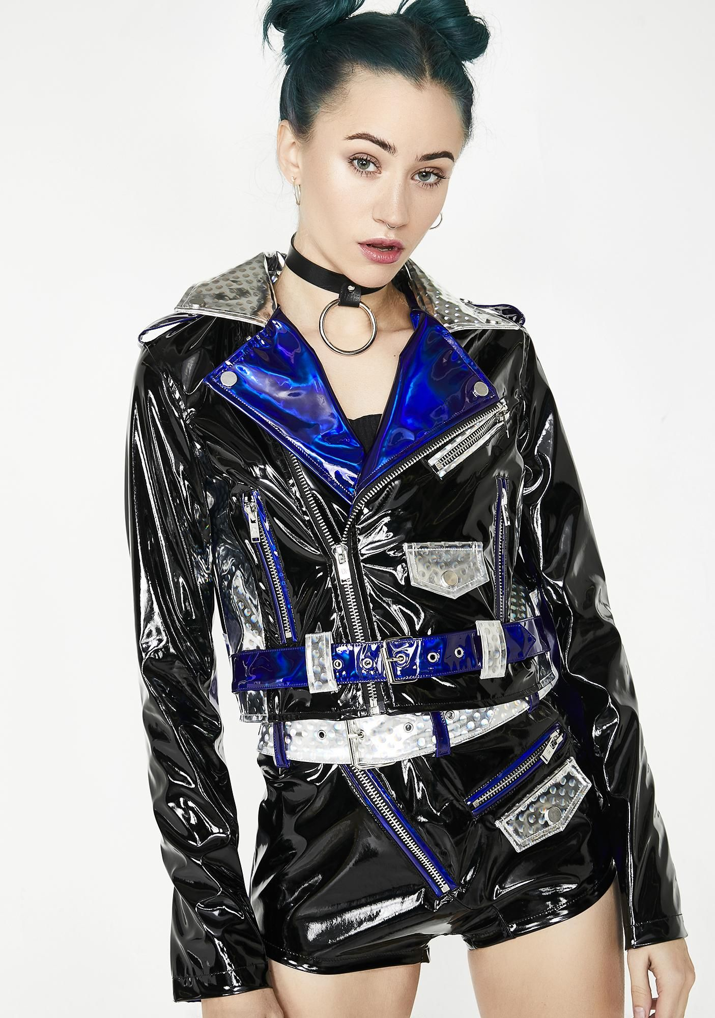 2434f8e07 Current Mood Techno Diva Moto Jacket cuz there's no time for disco naps!  Get your