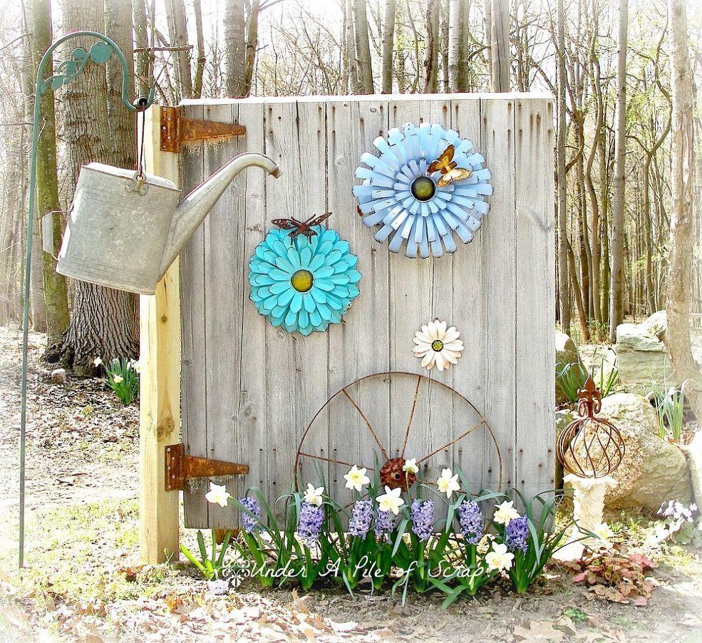 13 Hometalk  Beginnings of My Little Garden ShedOutdoor decorbarn door