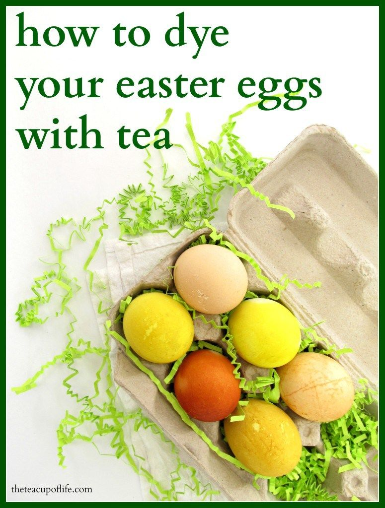 Want a more natural but still fun way to decorate eggs? Put the food colouring away and give this DIY tea dyed Easter eggs a try.