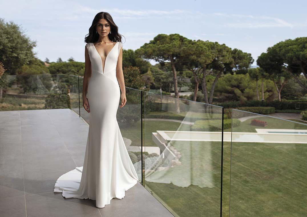 Pronovias Penelope Betti B In 2020 Brautmode Hochzeitskleid Brautkleid