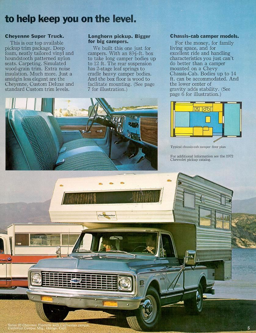1970 chevy c10 custom camper