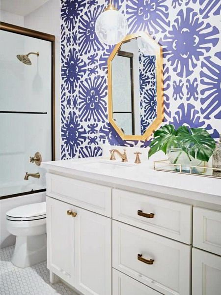 violet or lilac bathroom bathroom interior trends on house colors for 2021 id=93234