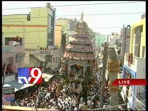 Sri Kalahasteeswara brahmotsavam celebrations in Chittoor
