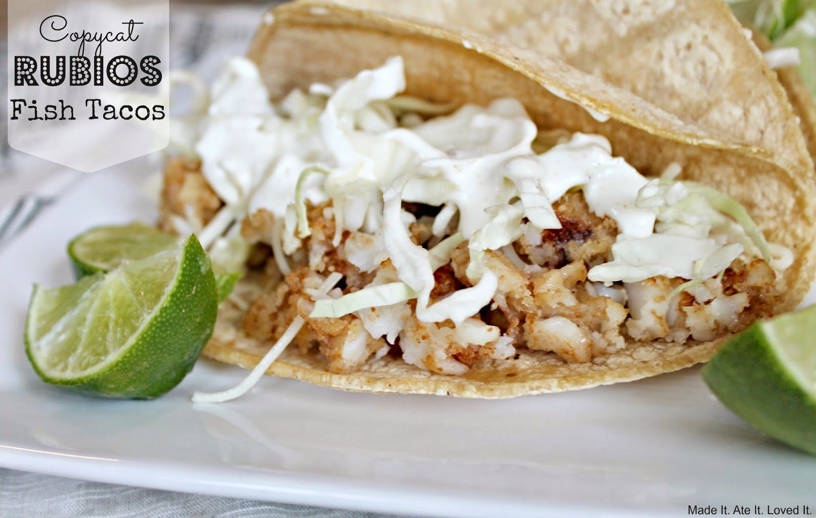 The Best Copycat Rubio S Fish Taco Recipe Rubios Fish Tacos