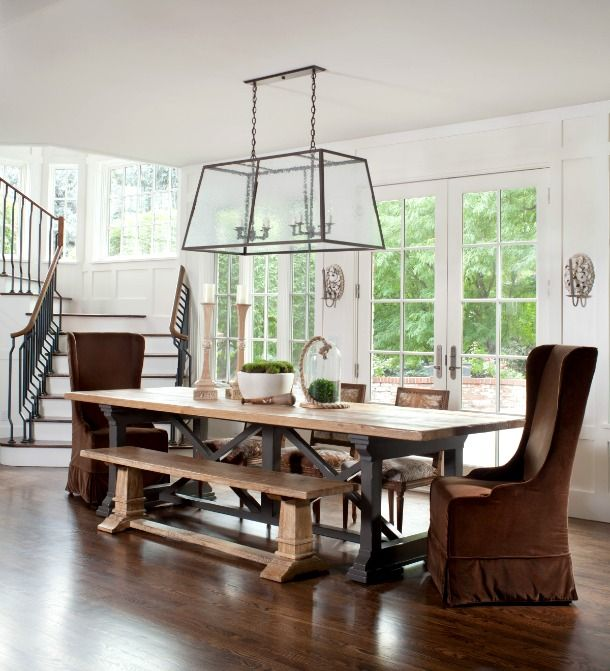 The Pared Down Palette Beautiful Dining Rooms Dining