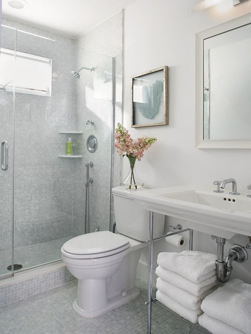 15 small bathroom designs youll fall in love with - Bathroom Designs And Tiles