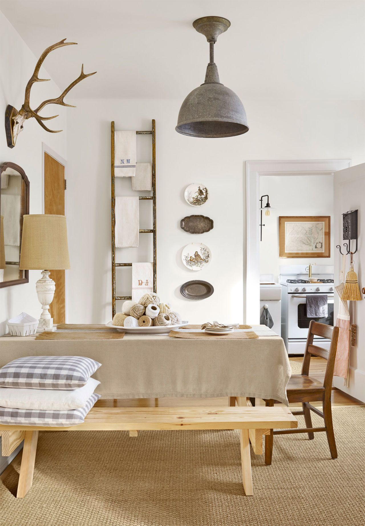 this gorgeous farmhouse-inspired apartment is hidden in new york