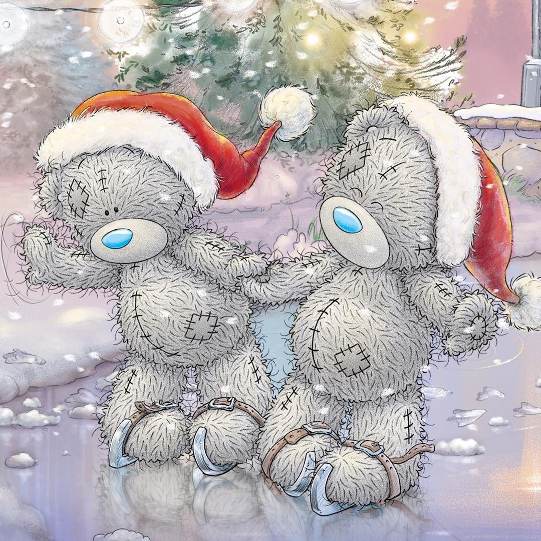 картинки к новому году мишки тедди второго найдёте, раритетный