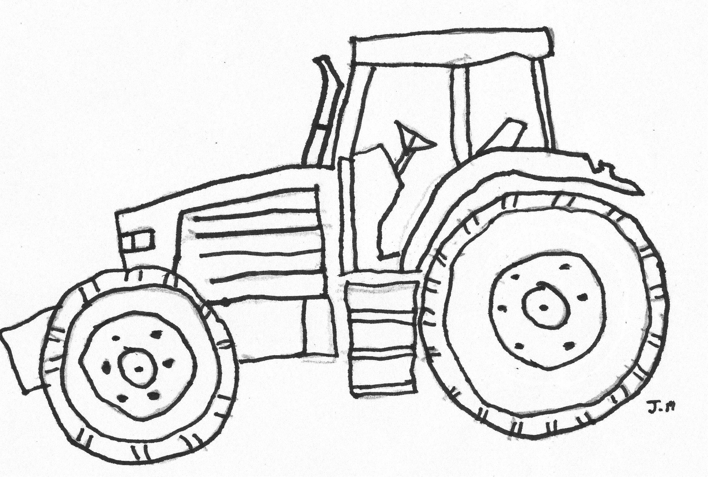 Tractor Coloring Page Tractor Coloring Pages Deer Coloring Pages Coloring Pages Inspirational [ 1540 x 2284 Pixel ]