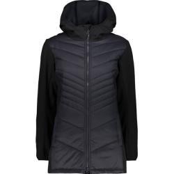 Photo of Cmp women's jacket Woman Coat Fix Hood, size 40 in Nero, size 40 in Nero F.lli Campagnolo