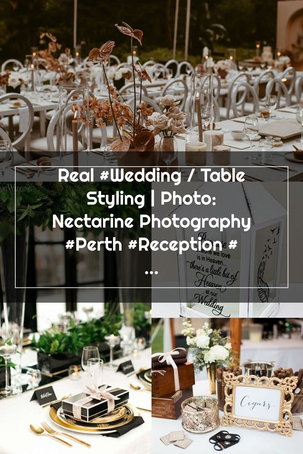 Real Wedding Table Styling Photo Nectarine Photography Perth Recept En 2020