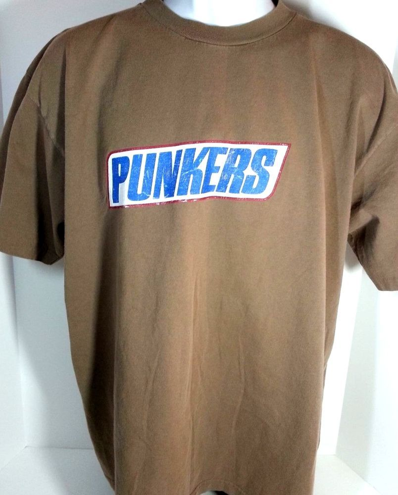 Shirt XL 1998 NOFX Punkers PUNK Snickers Spoof