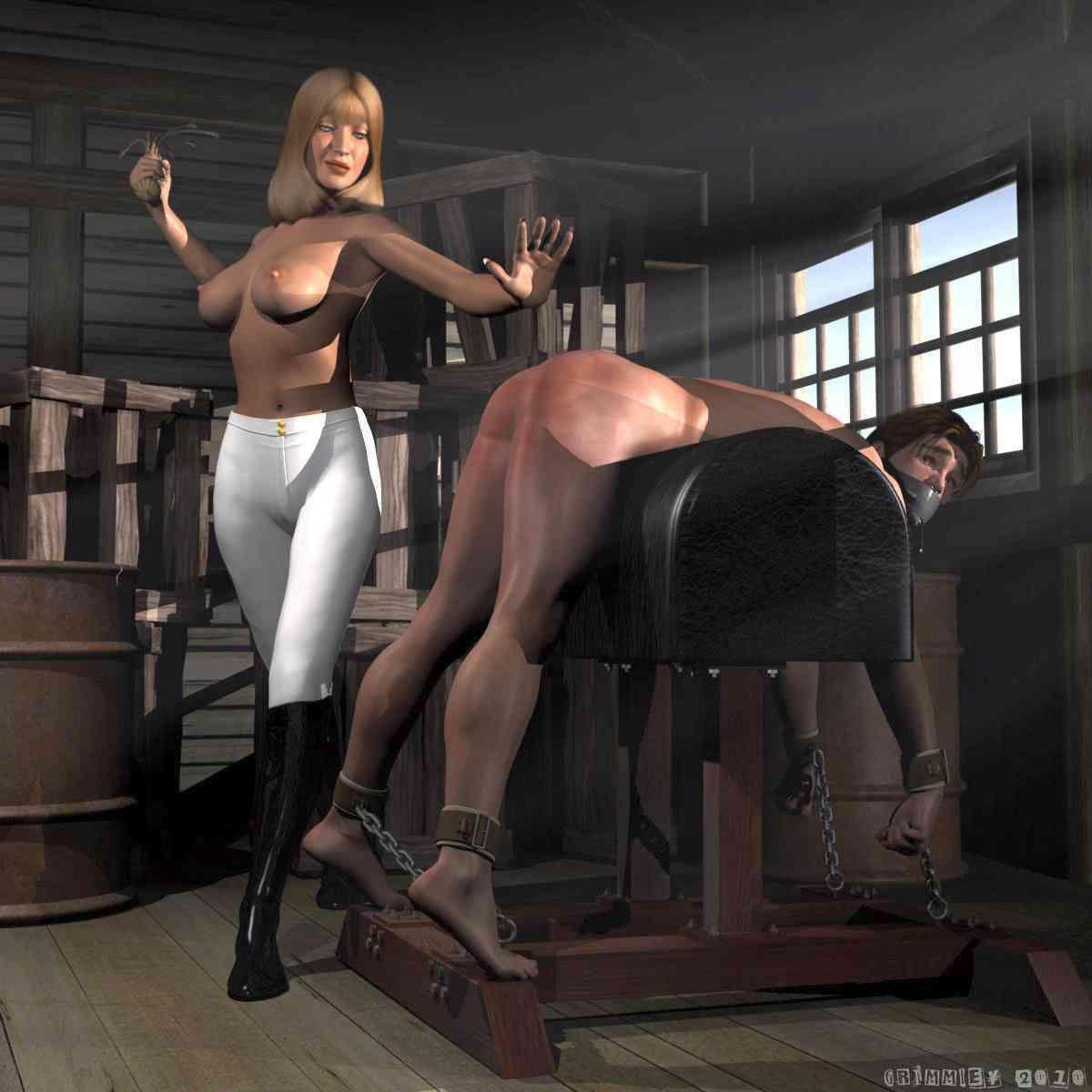 Dominatrix who spank