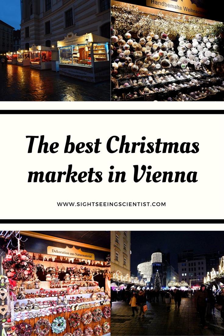 The best Christmas markets in Vienna | Europe! | Pinterest | Vienna