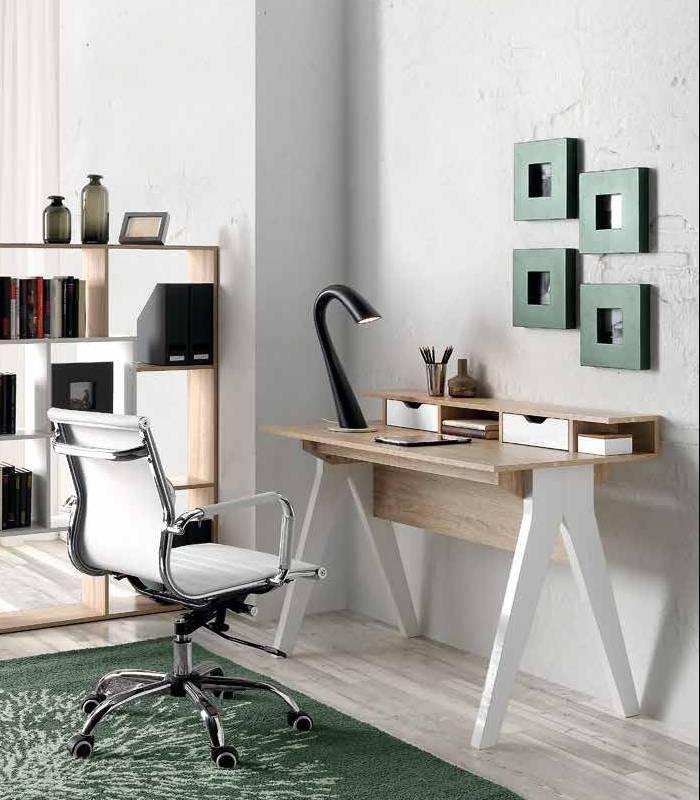 Mesa de oficina modelo 74570 de Hispanohogar