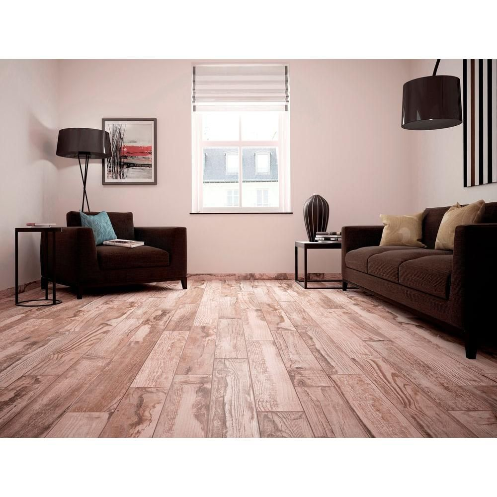Ms international redwood natural 6 in x 24 in glazed porcelain ms international redwood natural 6 in x 24 in glazed porcelain floor and wall tile 969 sq ft case dailygadgetfo Images