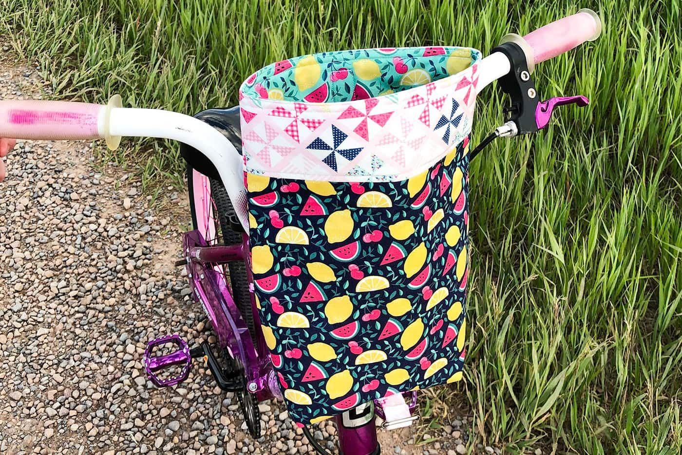 Diy Bike Handlebar Bag Pattern Handlebar Bag Pattern Handlebar Bag Backpack Pattern Sewing