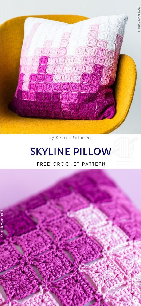 Simple and Cozy Crochet Pillows