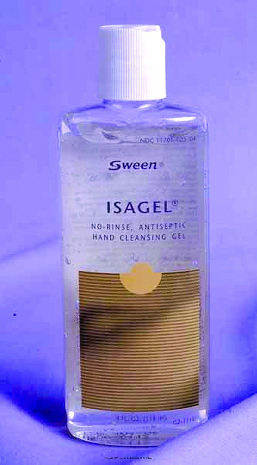 Isagel No Rinse Instant Hand Sanitizing Gel 4 Oz Bottle Case Of