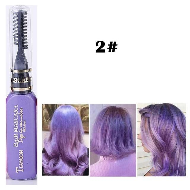 Diy Temporary Hair Color 397622 Best Red To Blue Ombre Dye Set Of 12