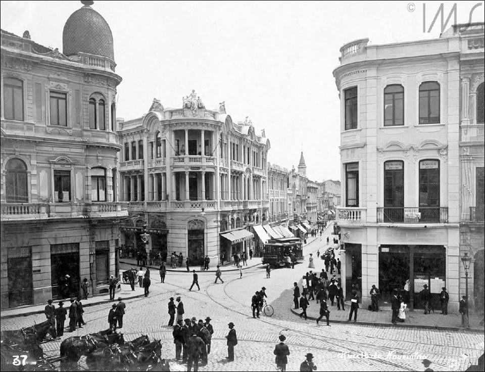 Rua 15 de Novembro Ano: 1912