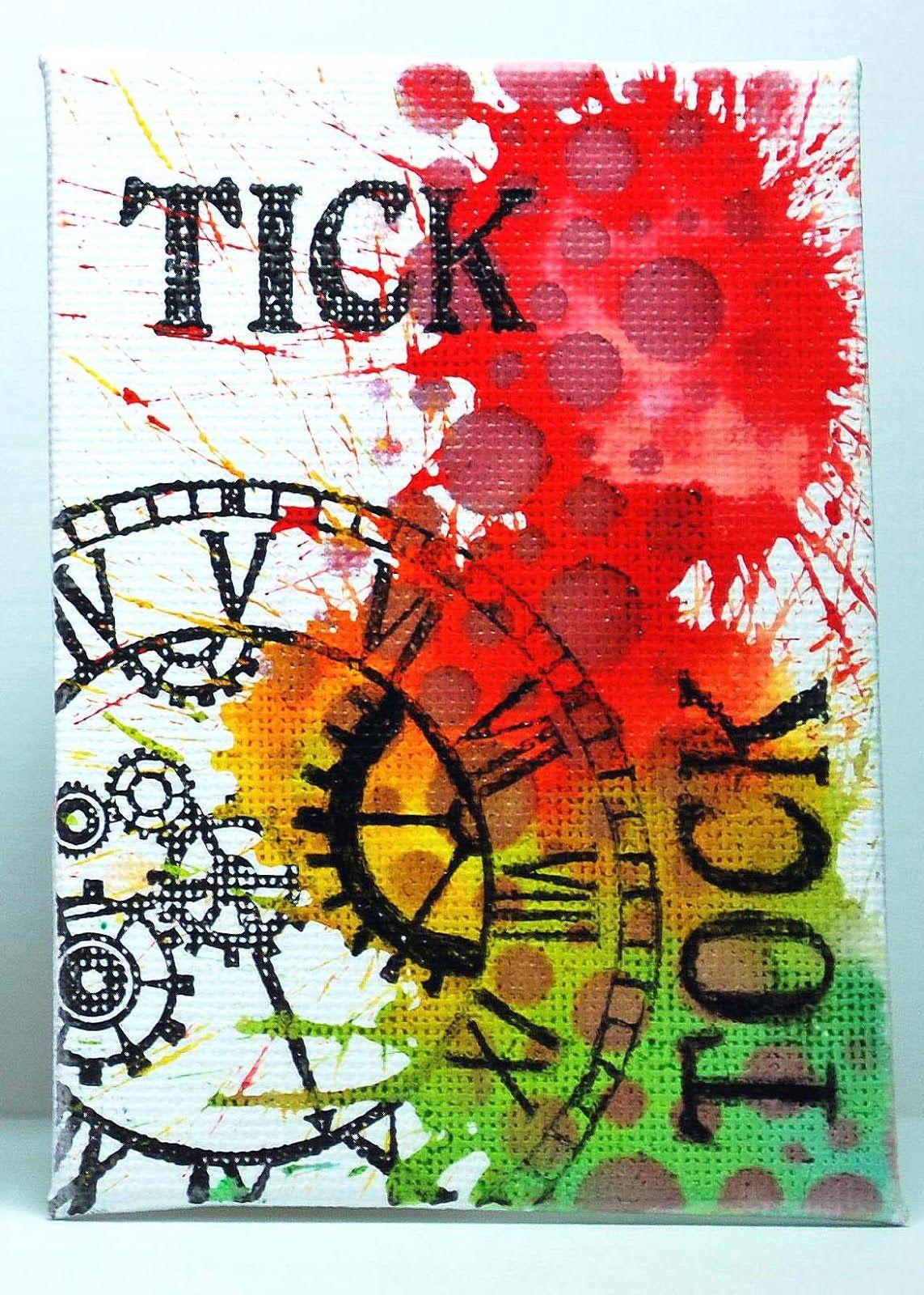 Eileen's Crafty Zone: Three Artist Trading Cards. | Art ...