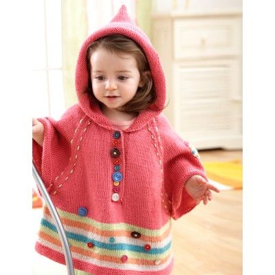 Hooded Poncho - now where is that wolf? Where is grandma\'s house? I ...