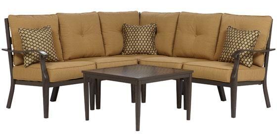grayton 6 piece sectional lounge furniture outdoor furniture