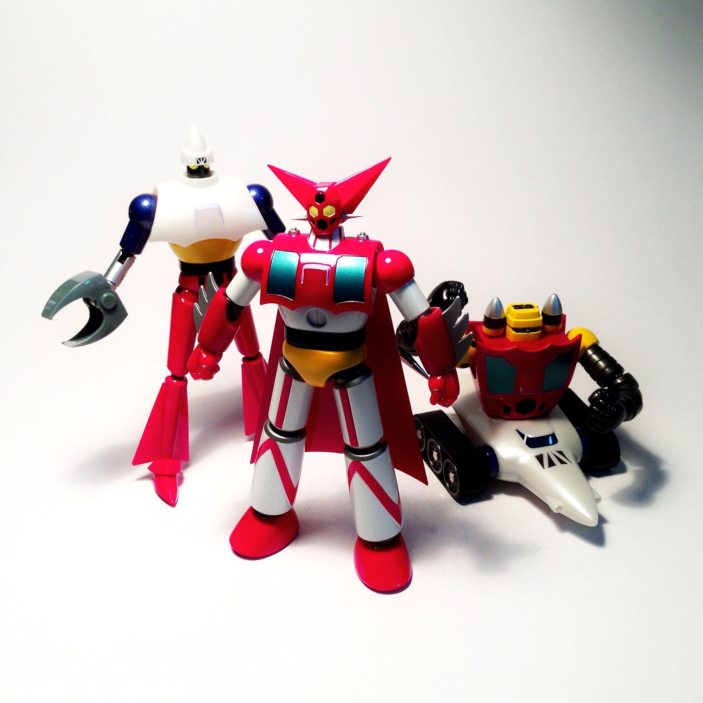 Getter Robo Toys 80