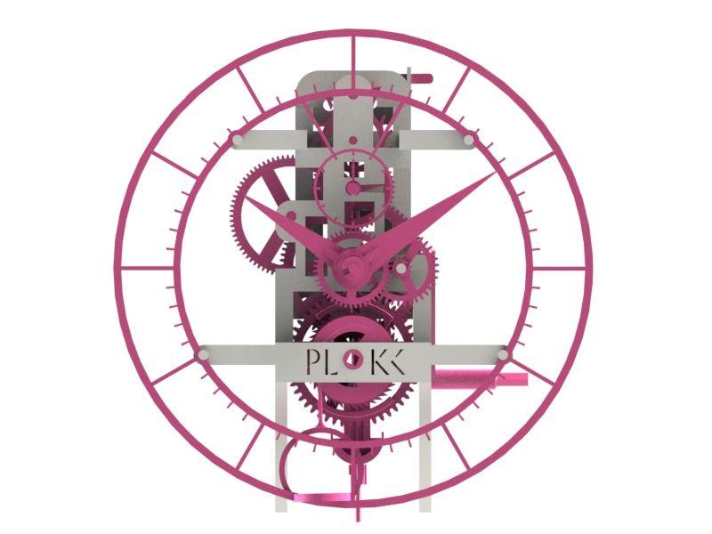 Plokk, 3D geprinte klokken.