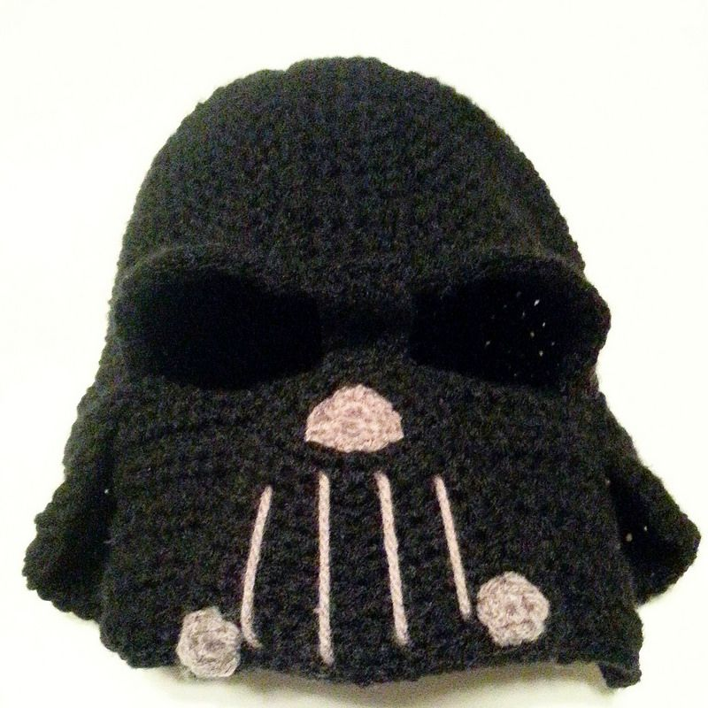 Darth Vader Hat | Inspiration | Pinterest | Häkeln