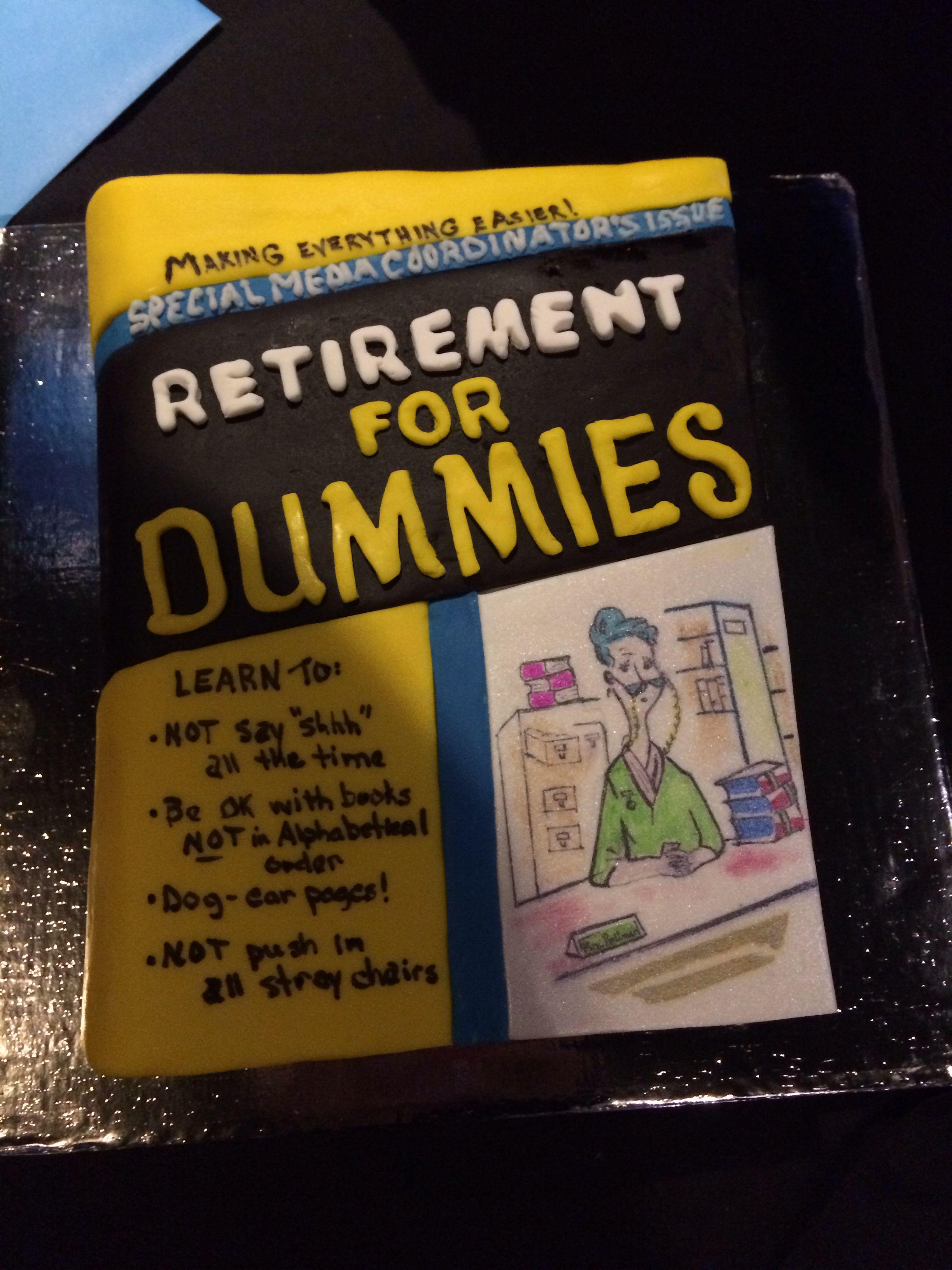 Librarian Retirement Cake