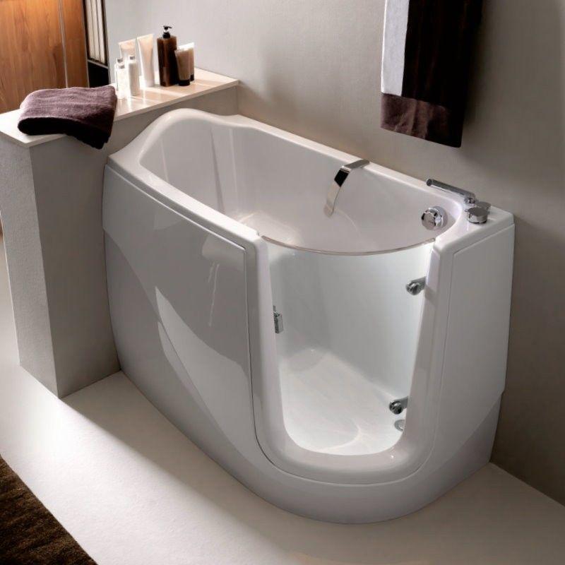 Gen-X SX Linksversion Seniorenbad Pinterest Sitzbadewanne - freistehende badewanne raffinierten look