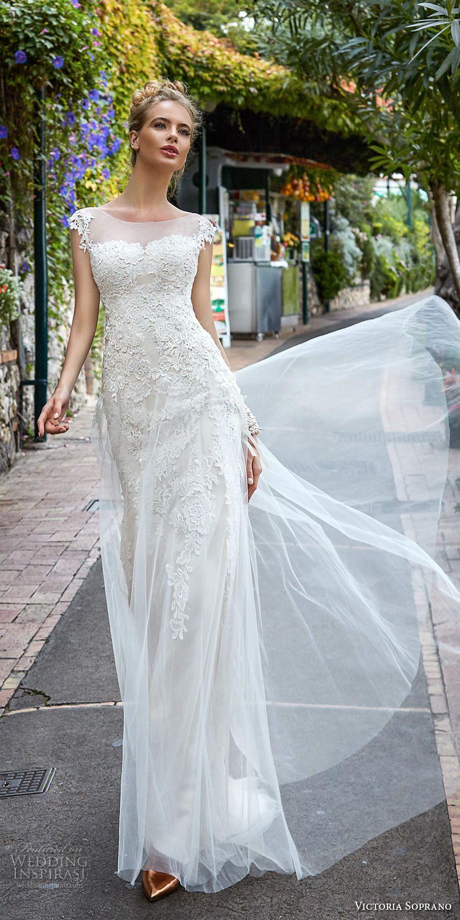 """Victoria Soprano 2017 Wedding Dresses — """"Capri"""" Bridal Collection ..."""