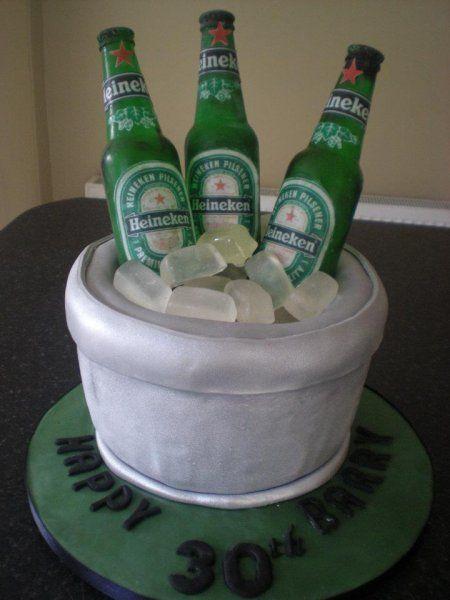 Heineken Beer Bottle Cake Birthday Cakes Cake Cupcake