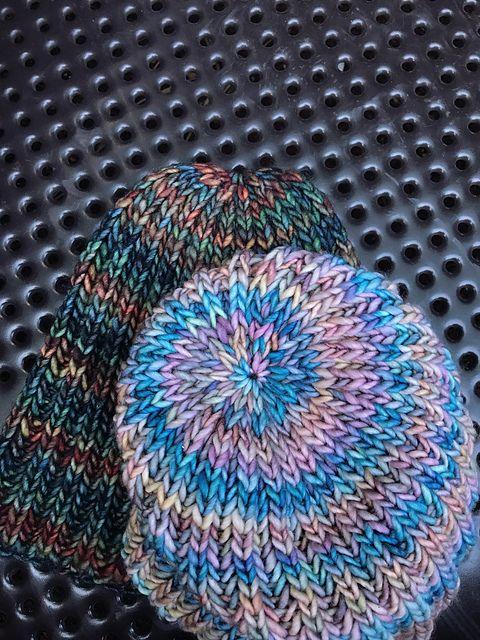 Brioche Hat (Quick and Easy) by Knitting Apprentice | malabrigo ...