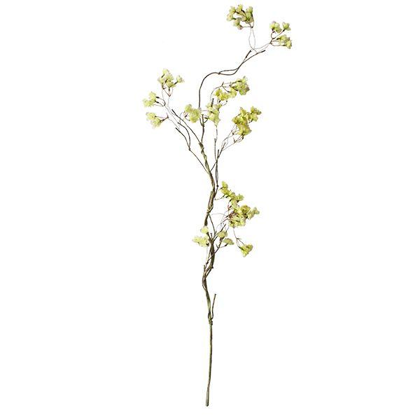 Branche de cerisier en fleurs vertes 51''