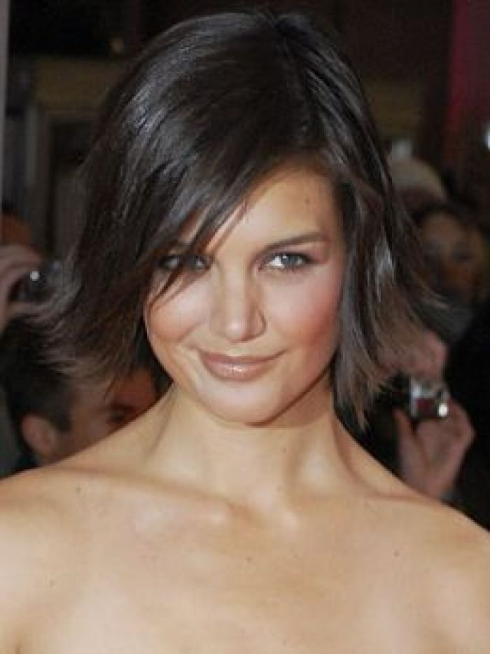 Katie Holmes Medium Haircuts For Heart Shaped Faces Design 260x347