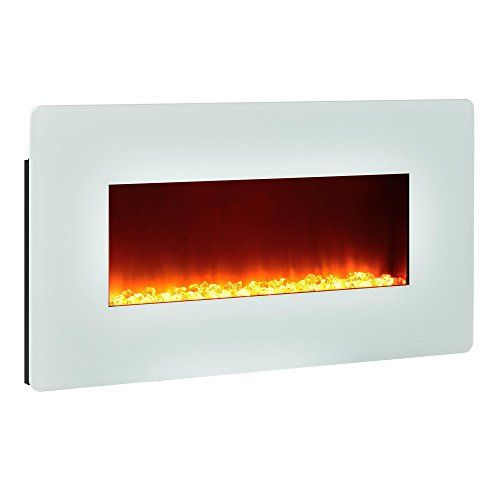 Altra Furniture Kenna 35 Wall Mount Fireplace White Altr Https