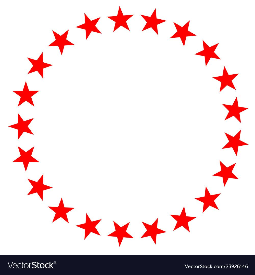 Red star in circle icon on white background flat vector