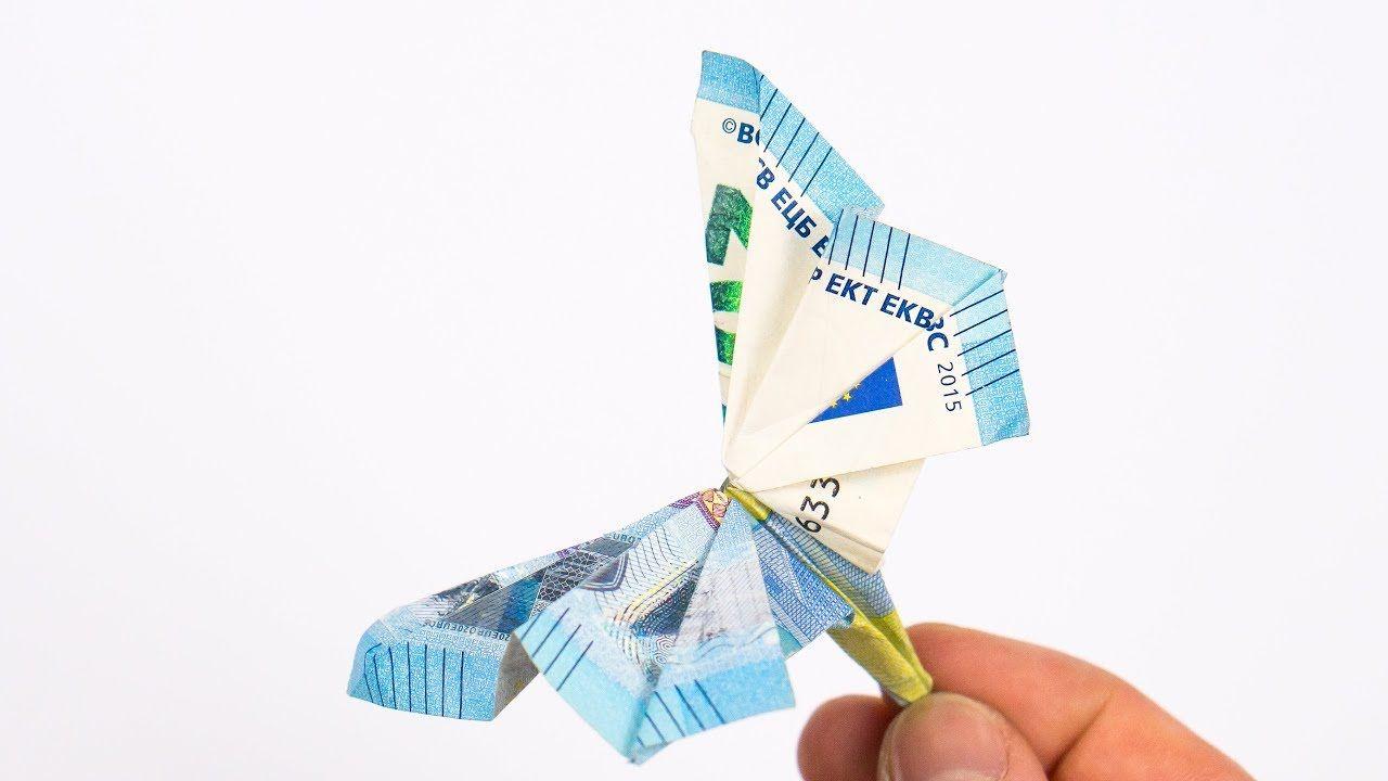 Geld Falten Schmetterling Anleitung Fur Geldgeschenke Zur Hochzeit Geld Falten Schmetterling Geld Falten Geld Falten Geburtstag