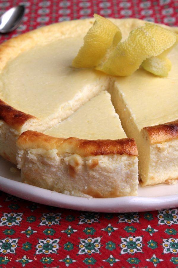 Recette de gâteau au fromage blanc saveur citron | Recette ...